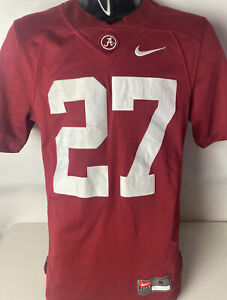 Alabama Crimson Tide Nike Jersey Derrick Henry #27 Sewn Swoosh Sz S BAMA
