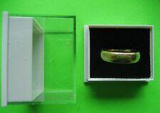 24 all' ingrosso di Plastica Trasparente Coperchio Gioielli Anello Display caselle Nero Anello PADS
