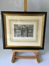 French Jean Le Pautre / Engraving Print From The Dorchester Hotel London