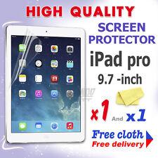 1 Nueva Película Protectora De Protección de pantalla de alta calidad de aluminio para Apple iPad Pro 9.7