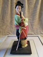 Vintage Geisha Doll Japanese 12 Inch mint condition
