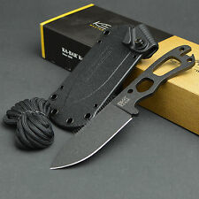 Ka-Bar Becker Necker Fixed Blade Neck Knife 1095 Cro-Van Plain Edge BK11