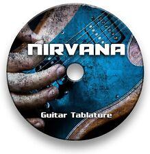 Nirvana Rock Guitar Tabs Tablature Lesson Software CD - Guitar Pro