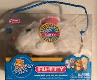 Hallmark Easter ZhuZhu Pet White Bunny Rabbit FLUFFY sound motion toy Age4+ NIB
