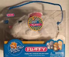 Hallmark Easter ZhuZhu Pet White Bunny Rabbit FLUFFY sound motion toy Age4+ NIB