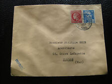FRANCE - enveloppe 27/2/1953 (cy53) french
