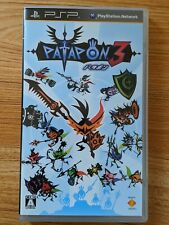 PlayStation Portable PSP Japan Import Patapon 3 UK SELLER