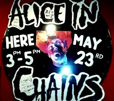 Alice in Chains Autograph, Original Line up One of a Kind! Foam Board Large!