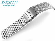 26mm Stainless Steel wristband watch bracelet Brushed Satin Titanium New band