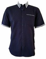 "Men`s New Debenhams Short Sleeve Casual Shirt Size XL 44"" Chest Button Down"
