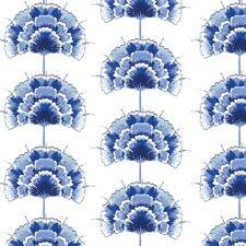 Art Gallery In Blue by Katarina Roccella INB 26640 Blau Bloem Cotton Fabric