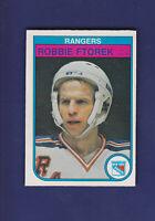 Robbie Ftorek 1982-83 O-PEE-CHEE OPC Hockey #223 (NM) New York Rangers