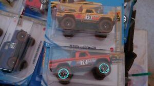 2021 Hot Wheels Orange LC/ Yellow SC 70 Dodge Power Wagon Baja Blazers MIP L@@KY