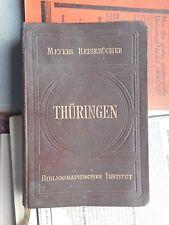 1900-1949 Deutsche Antiquarische Bücher aus Thüringen für Orts-& Landeskunde