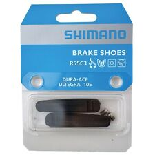 Shimano Brake Shoes Pads -R55C3 - for Dura-Ace, Ultegra & 105 - 1 Pair