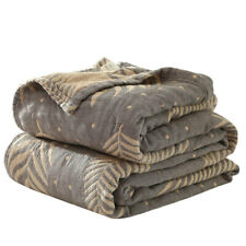 4 layer Blanket Thin Cotton Air Conditioning Blanket Throws Cool Feeling Bedding