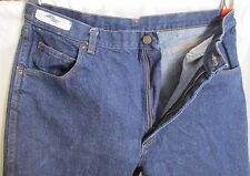 Red Kap Blue Denim Jeans Heavy Duty Actual 38x34 Tall Dark Fade Relaxed Fit