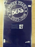 WALKING DEAD 127 NM [15 YEAR ANNIVERSARY BLACK POLYBAGG SEALED] PA11-348