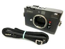【NEAR MINT+++ w/ STRAP】 Minolta CLE Rangefinder 35mm Film Camera Body from JAPAN