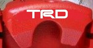 TRD Brake Caliper Decals (8)