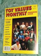 TOY VALUES MONTHLY MAGAZINE PREMIER ISSUE  VOL. 1,  NO. 1   MAY 1991