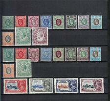 BRITISH  SOMALILAND  1912-1935  KGV  24 STAMPS   MLH*