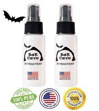 Bat House Attractant Spray - 100% Pure Natural Bat Lure by Bat Cave (2 Bottles)