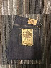 POLO RALPH LAUREN RRL RAW RINSE SLIM BOOTCUT JAPANESE SELVEDGE JEANS RIGID 36 34