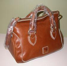 Dooney & Bourke Medium Savannah Satchel Natural Leather LW553 NA NWT