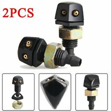 2Pcs Car Front Windshield Wiper Washer Sprayer Replacement Jet Nozzle Universal