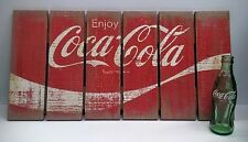 Coca-Cola Wooden Pallet Sign - BRAND NEW