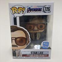 Funko Pop! Stan Lee Marvel Avengers Endgame #726 Funko Shop Exclusive In Hand