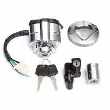Ignition Switch Lock Fuel Gas Cap Key Set For Honda Shadow VLX 400 600 VT400/750