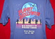 Vintage PLANET HOLLYWOOD 1996 Grand Opening Nashville TN CLOSED T-SHIRT Large