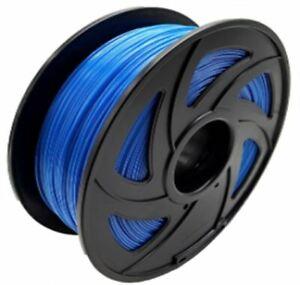 Fluorescent Blue PETG 1.75mm 1 KG