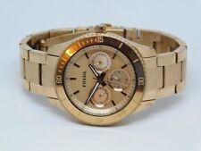 Fossil ES-2859 Rose Gold Tone Quartz Analog Ladies Watch