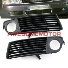 Pair Front Lower Bumper Side Air Vent Fog Light Grille For 98-01 Audi A6 C5 AM