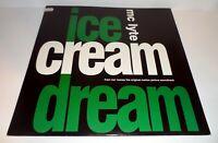 "MC LYTE - ICE CREAM DREAM 12"" VINYL 1992"