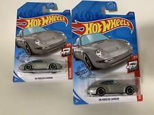 New ListingHot Wheels '96 Porsche Carrera Silver Lot Of 2