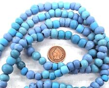 Southwest Padre Trade Beads  Turquoise Blue  Antique Style        1817 Bin M