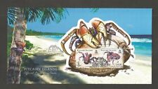PITCAIRN ISLANDS 2009 COCONUT CRAB MINISHEET FDC SG,MS778 LOT 4896A