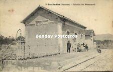 spain, SON SARDINA, Baleares, Estacion Del Ferrocarril, Railway Station (1910s)
