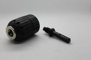 Schnellspannbohrfutter mit SDS PLUS Adapter Bohrfutter für Bohrer 2mm bis 13mm