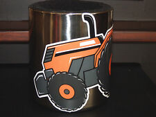 KUBOTA Tractor Swag MAGNETIC Stainless Steel CUP HOLDER, with Vinyl KUBOTA decal