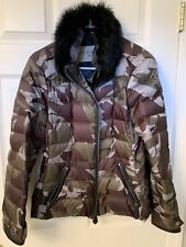 100% Authentic Burberry Down Jacket With Fur Collar. Great. Size L