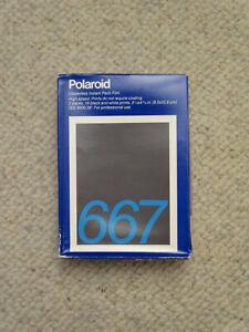 Polaroid 667 Professional Film NOS 16 exposures Coaterless Instant Pack