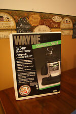 WAYNE SSPT33 SUBMERSIBLE USA MADE 1/3 HP WATER SUMP PUMP &Tethered float SWITCH