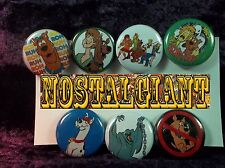 """1"""" pinback buttons inspired by """"Scooby Doo set 2"""""""