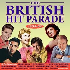 BRITISH HIT PARADE 1959-1962  2 CD BUDDY HOLLY ELVIS PRESLEY  UVM NEUF