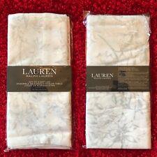 "🎄Ralph Lauren Napkins 🎄Poinsettia Holly🎄20 x 20"" 🌟Set Of Four🌟"